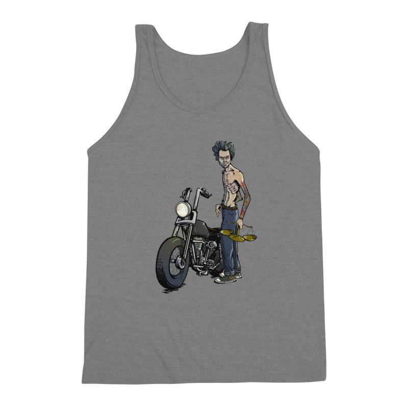 Four Riders: Famine Men's Triblend Tank by Cory Kerr's Artist Shop (see more at corykerr.com)