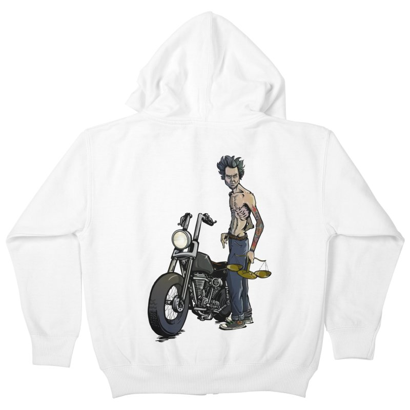 Four Riders: Famine Kids Zip-Up Hoody by Cory Kerr's Artist Shop (see more at corykerr.com)