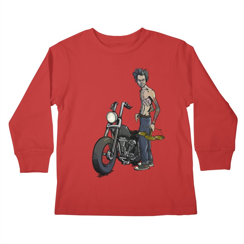Four Riders: Famine Kids Longsleeve T-Shirt by Cory Kerr's Artist Shop (see more at corykerr.com)