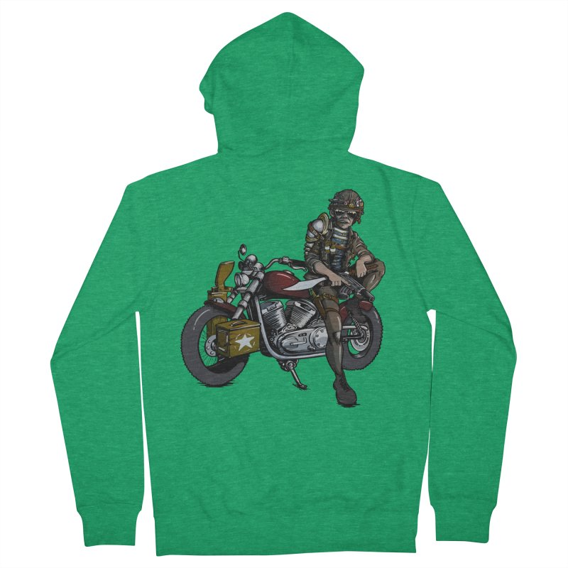 Four Riders: War Women's Zip-Up Hoody by Cory Kerr's Artist Shop (see more at corykerr.com)