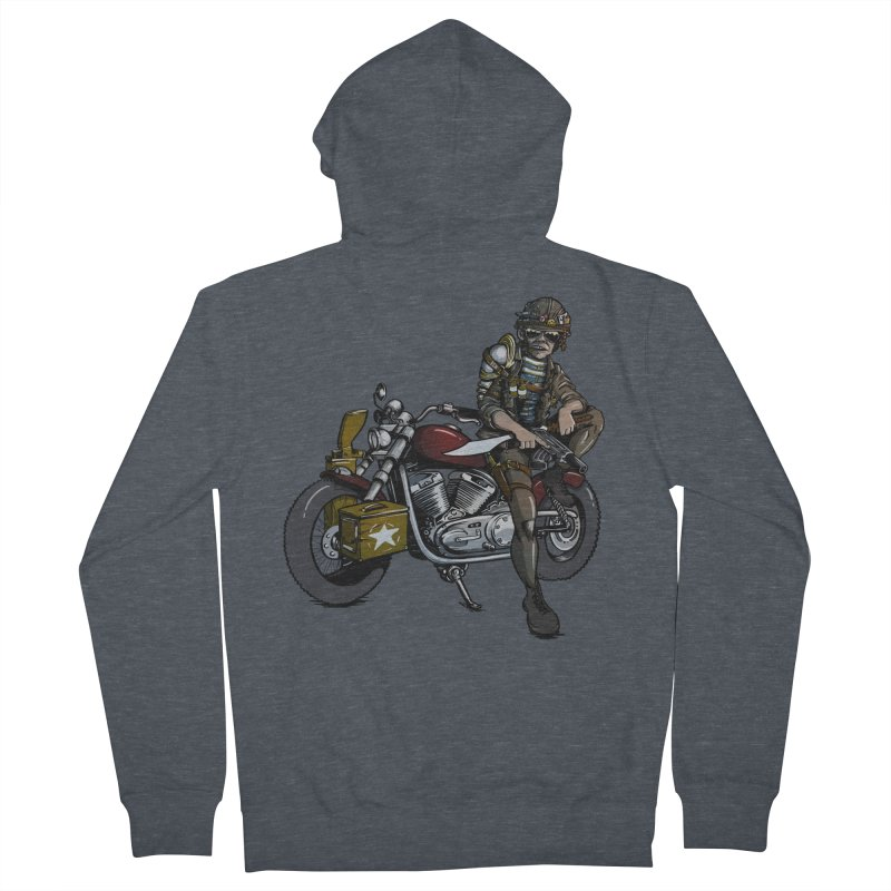 Four Riders: War Men's Zip-Up Hoody by Cory Kerr's Artist Shop (see more at corykerr.com)