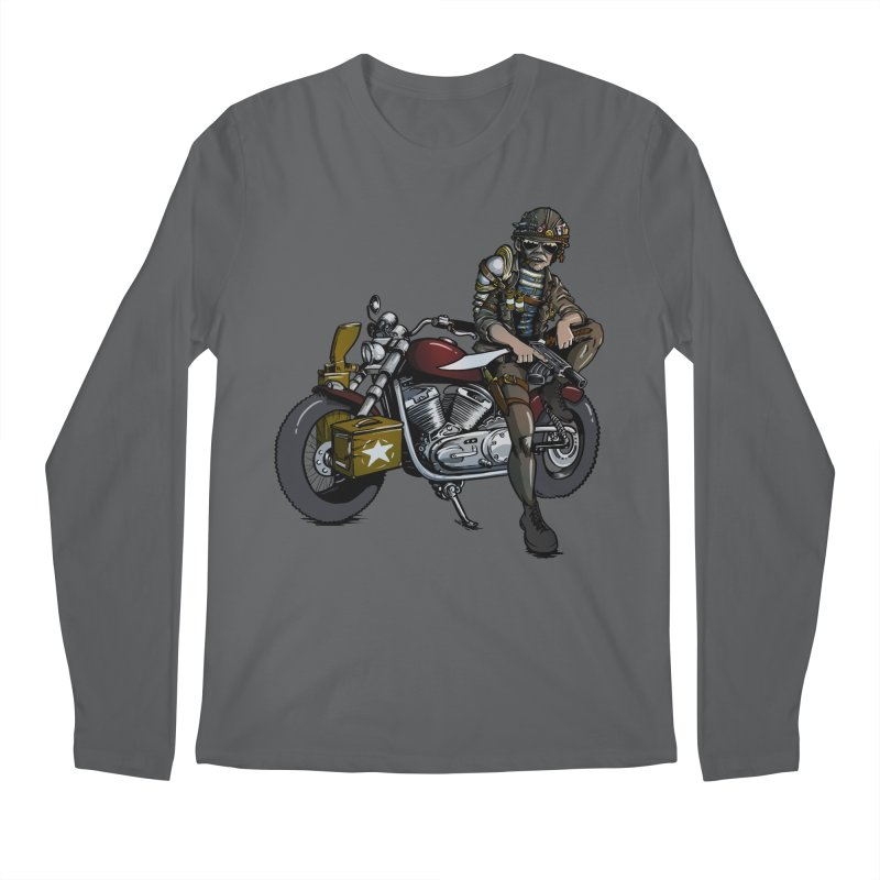 Four Riders: War Men's Longsleeve T-Shirt by Cory Kerr's Artist Shop (see more at corykerr.com)