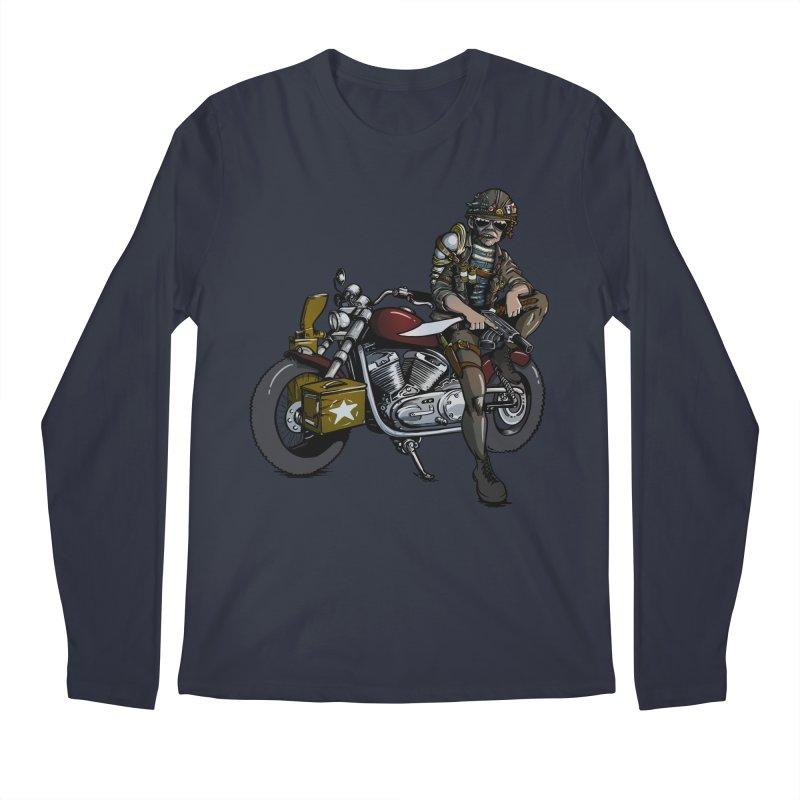 Four Riders: War Men's Longsleeve T-Shirt by Cory Kerr's Artist Shop (see more at corykerr.com)