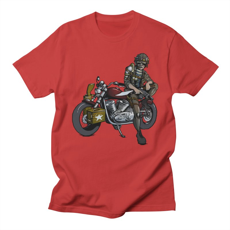 Four Riders: War Women's Unisex T-Shirt by Cory Kerr's Artist Shop (see more at corykerr.com)