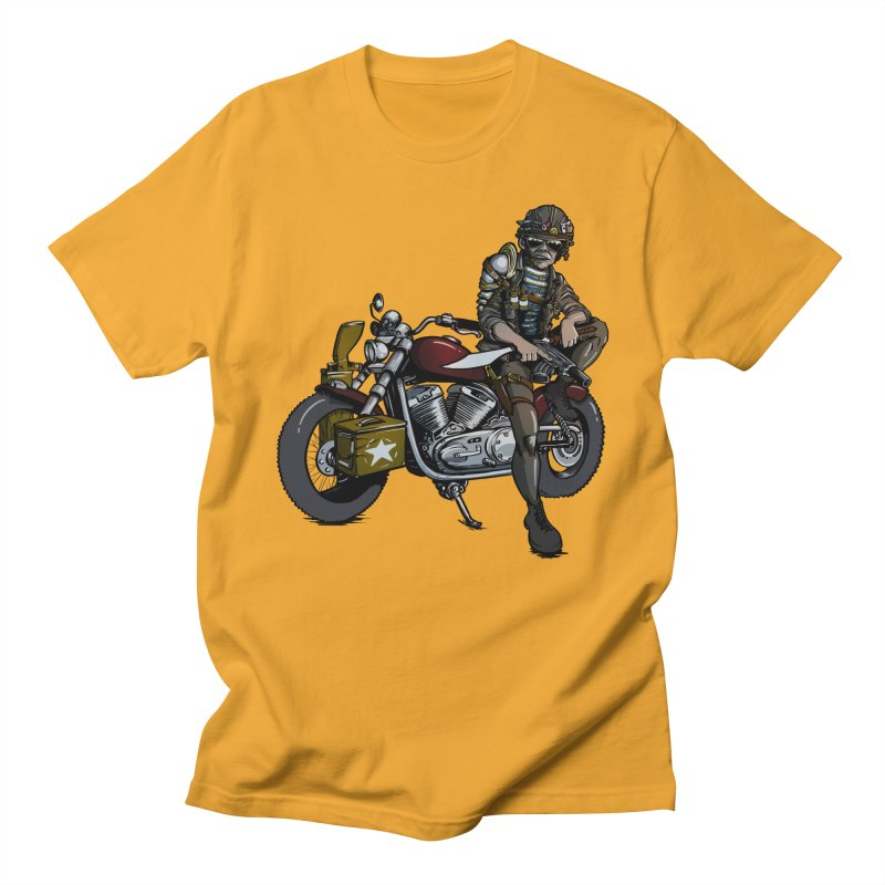 Four Riders: War Men's T-shirt by Cory Kerr's Artist Shop (see more at corykerr.com)