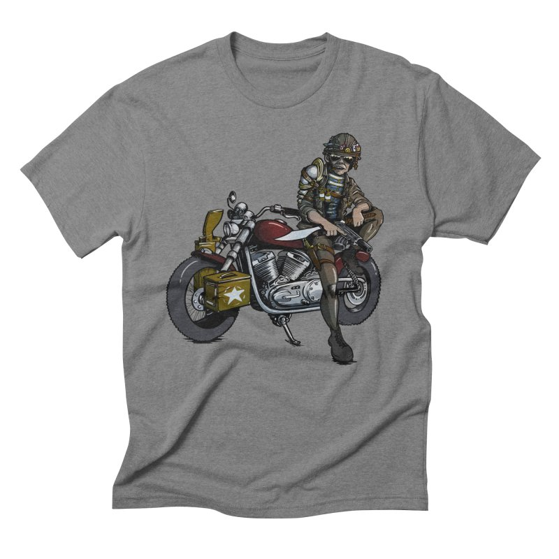 Four Riders: War Men's Triblend T-Shirt by Cory Kerr's Artist Shop (see more at corykerr.com)