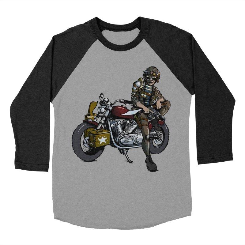 Four Riders: War Women's Baseball Triblend T-Shirt by Cory Kerr's Artist Shop (see more at corykerr.com)