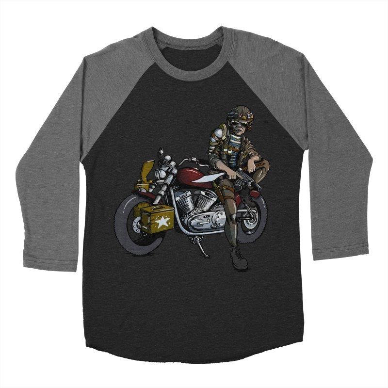 Four Riders: War Men's Baseball Triblend T-Shirt by Cory Kerr's Artist Shop (see more at corykerr.com)