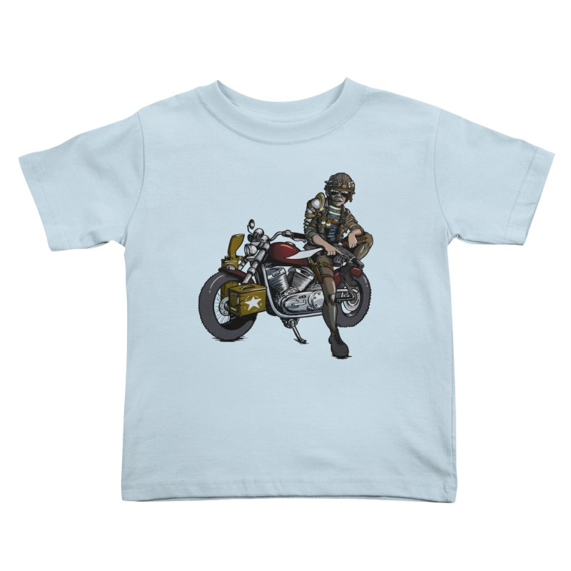 Four Riders: War Kids Toddler T-Shirt by Cory Kerr's Artist Shop (see more at corykerr.com)