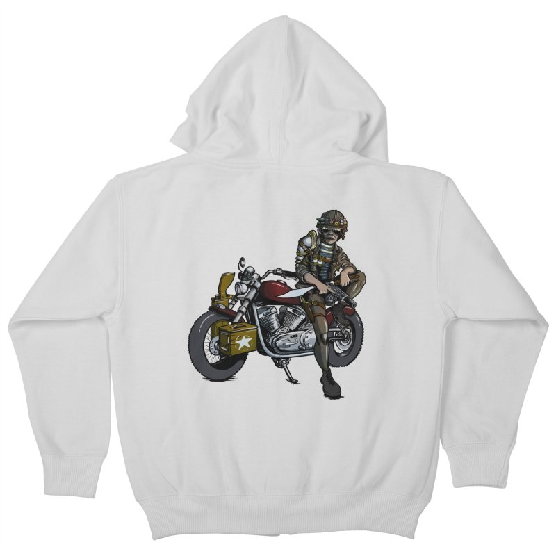 Four Riders: War Kids Zip-Up Hoody by Cory Kerr's Artist Shop (see more at corykerr.com)