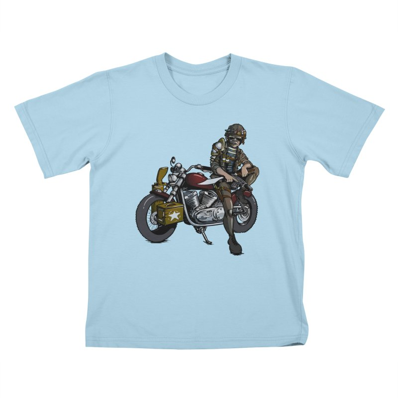 Four Riders: War Kids T-Shirt by Cory Kerr's Artist Shop (see more at corykerr.com)