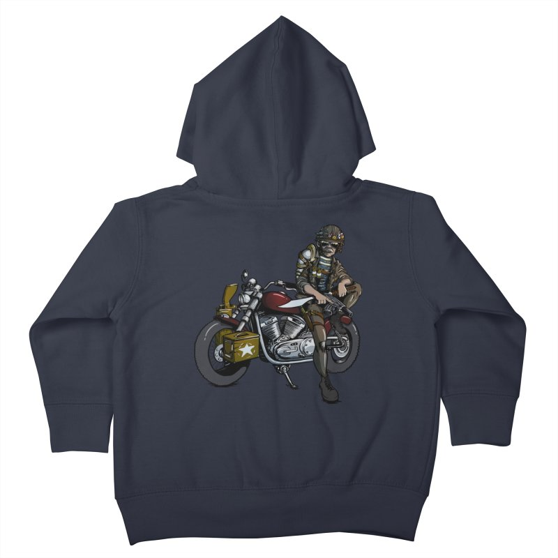 Four Riders: War Kids Toddler Zip-Up Hoody by Cory Kerr's Artist Shop (see more at corykerr.com)