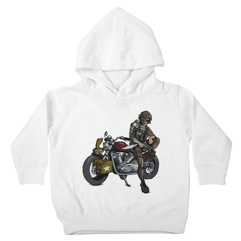 Four Riders: War Kids Toddler Pullover Hoody by Cory Kerr's Artist Shop (see more at corykerr.com)