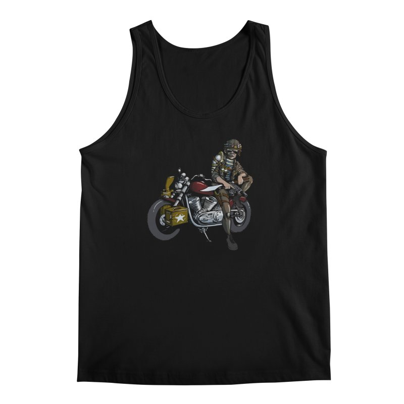 Four Riders: War Men's Tank by Cory Kerr's Artist Shop (see more at corykerr.com)