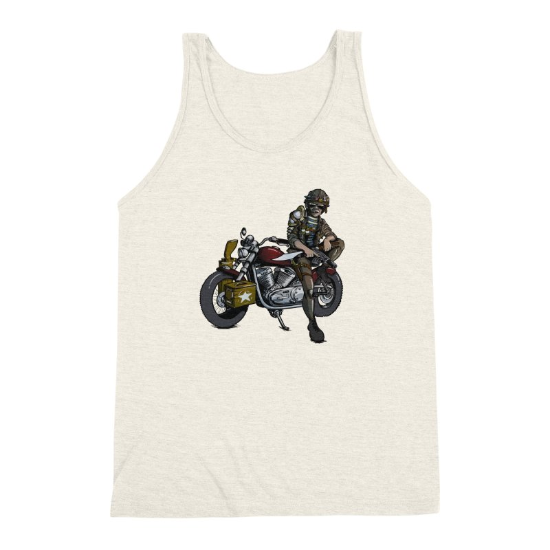 Four Riders: War Men's Triblend Tank by Cory Kerr's Artist Shop (see more at corykerr.com)