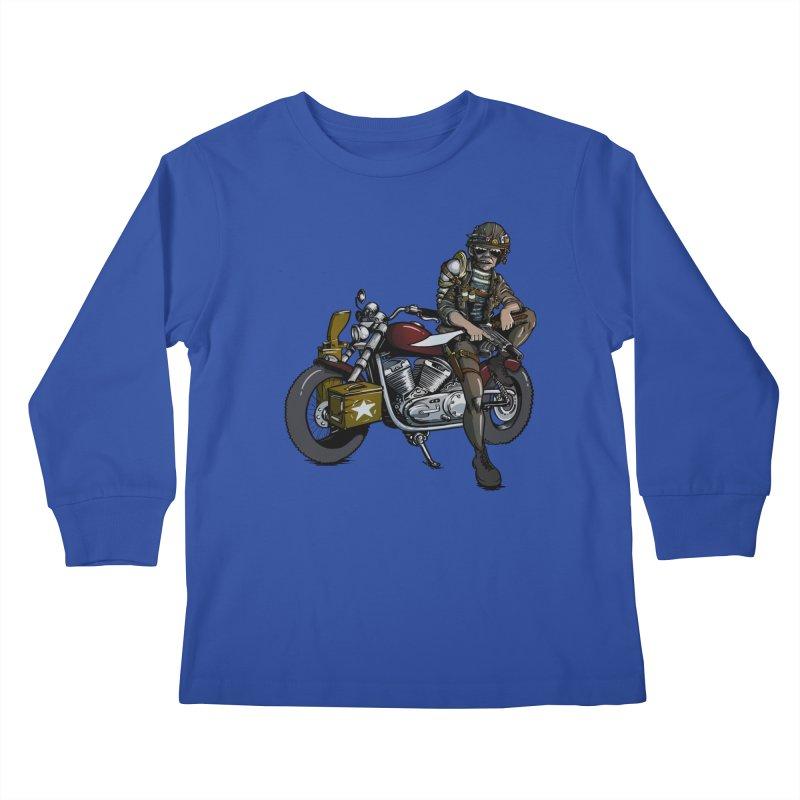 Four Riders: War Kids Longsleeve T-Shirt by Cory Kerr's Artist Shop (see more at corykerr.com)