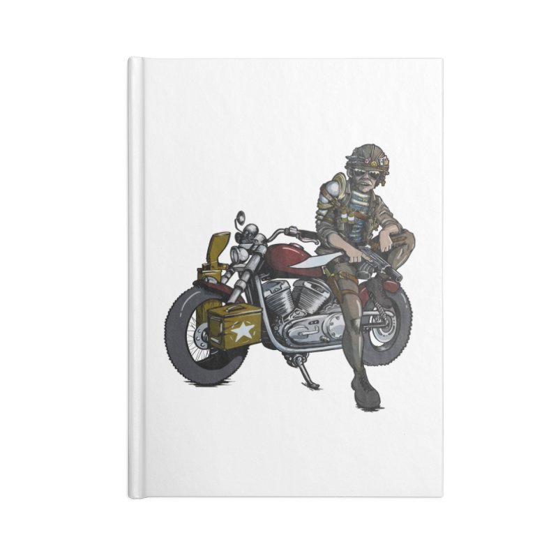 Four Riders: War Accessories Notebook by Cory Kerr's Artist Shop (see more at corykerr.com)