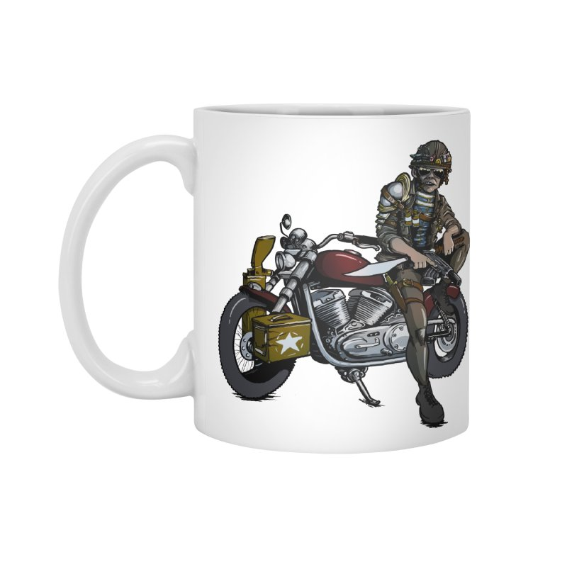 Four Riders: War Accessories Mug by Cory Kerr's Artist Shop (see more at corykerr.com)