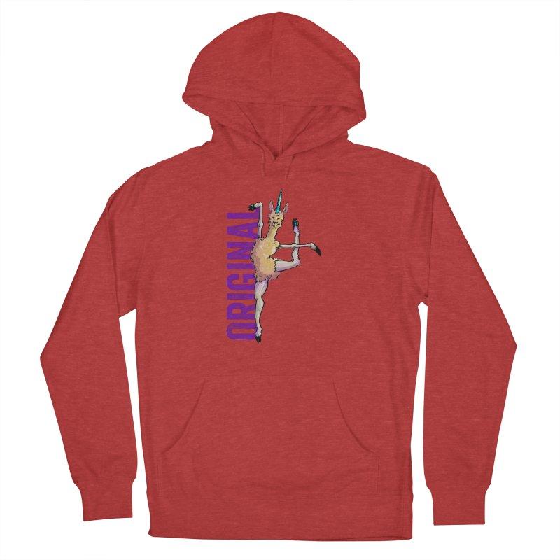 Llamacorn: original Men's Pullover Hoody by Cory Kerr's Artist Shop (see more at corykerr.com)