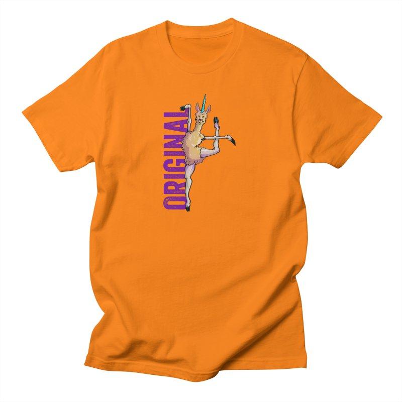 Llamacorn: original Men's T-Shirt by Cory Kerr's Artist Shop (see more at corykerr.com)