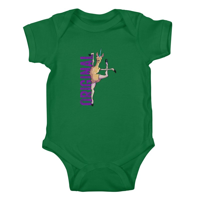 Llamacorn: original Kids Baby Bodysuit by Cory Kerr's Artist Shop (see more at corykerr.com)