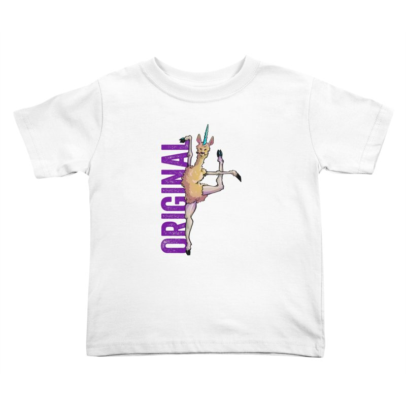 Llamacorn: original Kids Toddler T-Shirt by Cory Kerr's Artist Shop (see more at corykerr.com)