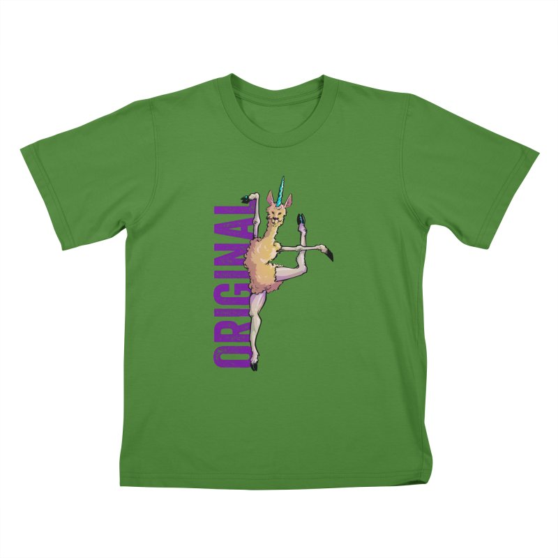 Llamacorn: original Kids T-Shirt by Cory Kerr's Artist Shop (see more at corykerr.com)