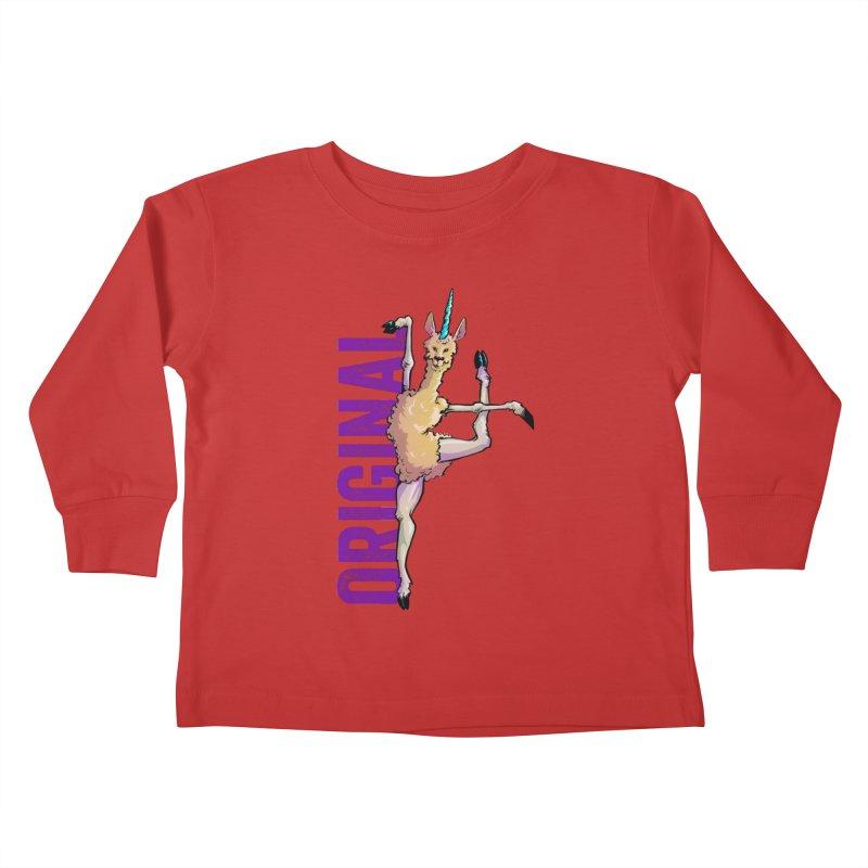 Llamacorn: original Kids Toddler Longsleeve T-Shirt by Cory Kerr's Artist Shop (see more at corykerr.com)