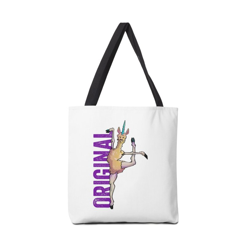 Llamacorn: original Accessories Bag by Cory Kerr's Artist Shop (see more at corykerr.com)