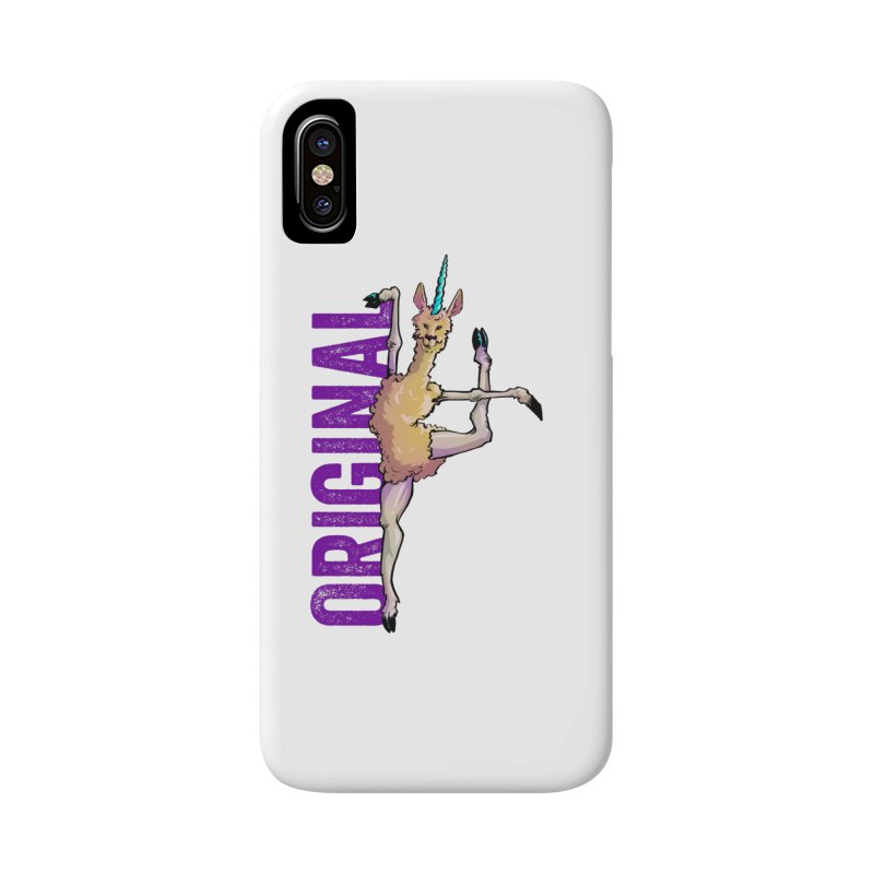 Llamacorn: original Accessories Phone Case by Cory Kerr's Artist Shop (see more at corykerr.com)
