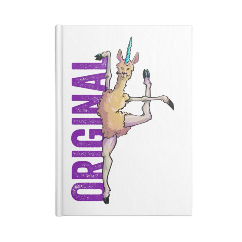 Llamacorn: original Accessories Notebook by Cory Kerr's Artist Shop (see more at corykerr.com)