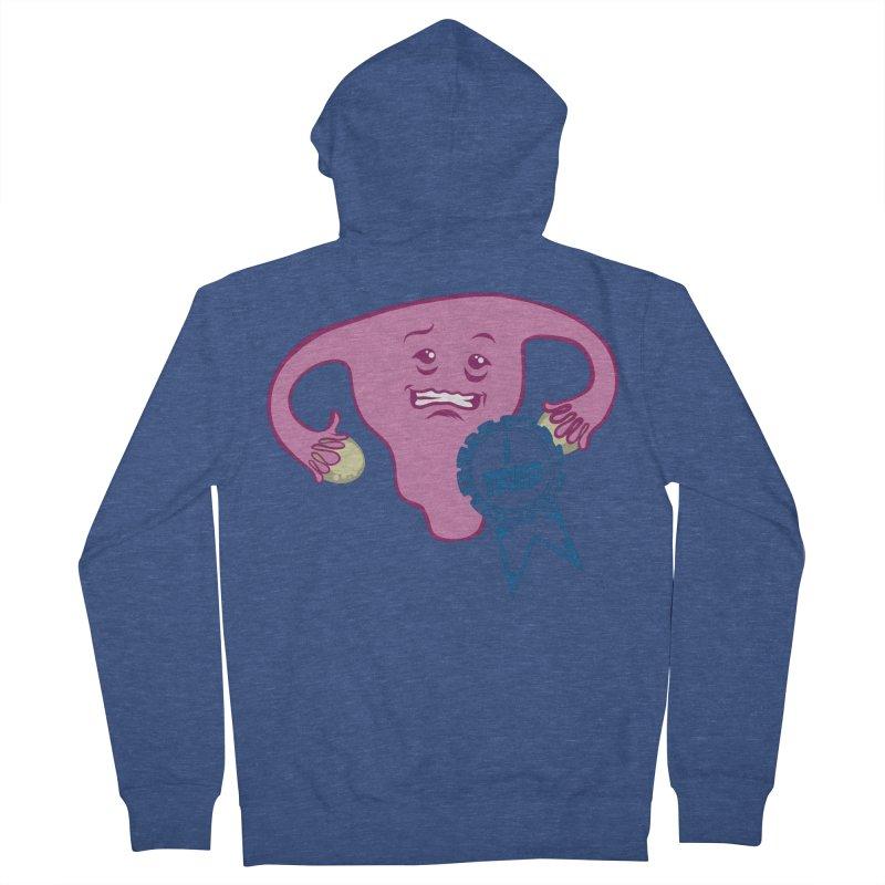 Uterus participation award Women's Zip-Up Hoody by Cory Kerr's Artist Shop (see more at corykerr.com)
