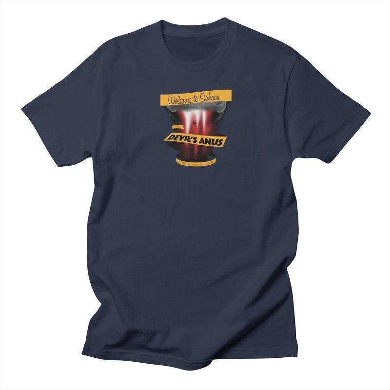 The Devil's Anus Men's T-Shirt by Cory Kerr's Artist Shop (see more at corykerr.com)