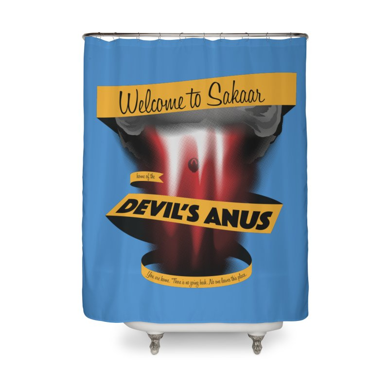 The Devil's Anus Home Shower Curtain by Cory Kerr's Artist Shop (see more at corykerr.com)