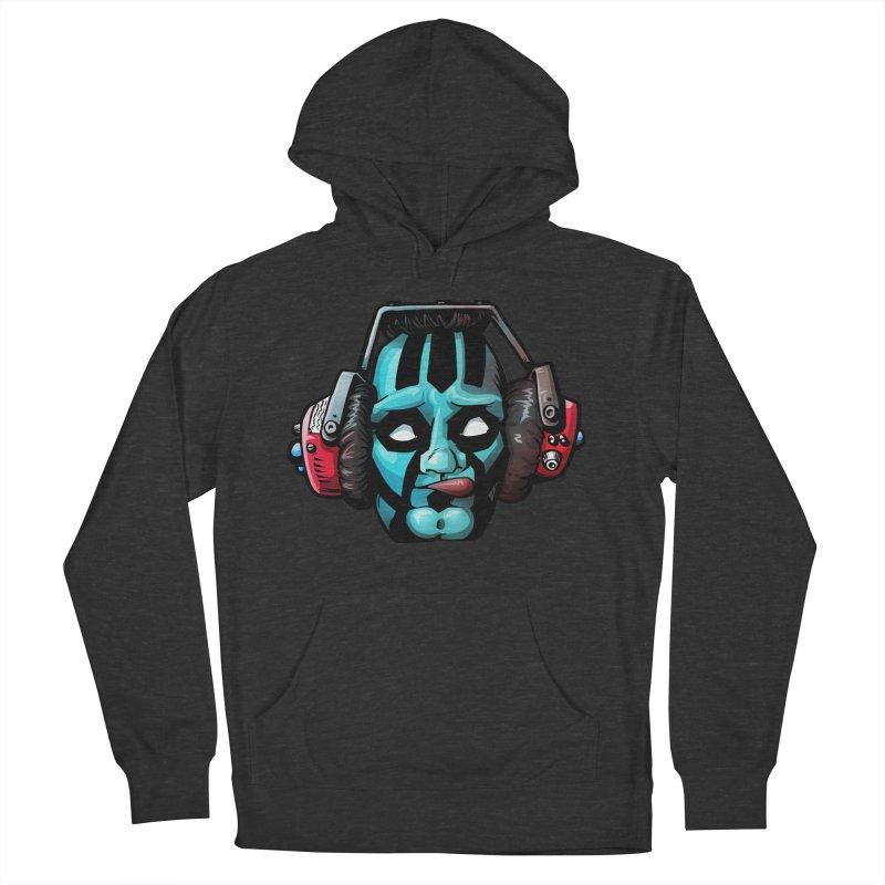 Zombie Metalhead  in Men's Pullover Hoody Smoke by Cory Kerr's Artist Shop (see more at corykerr.com)