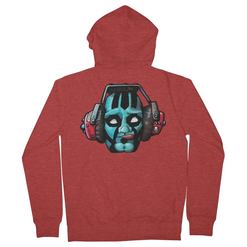 Zombie Metalhead  Women's Zip-Up Hoody by Cory Kerr's Artist Shop (see more at corykerr.com)