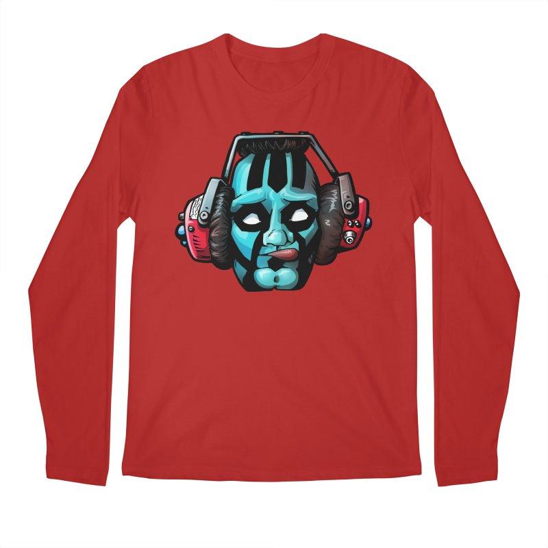 Zombie Metalhead  Men's Longsleeve T-Shirt by Cory Kerr's Artist Shop (see more at corykerr.com)
