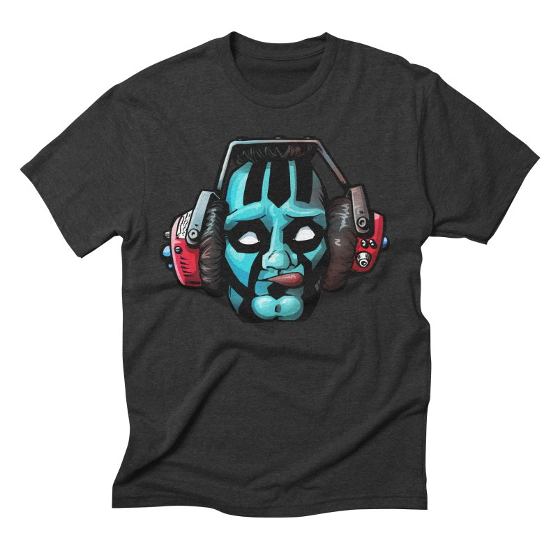 Zombie Metalhead  Men's Triblend T-shirt by Cory Kerr's Artist Shop (see more at corykerr.com)