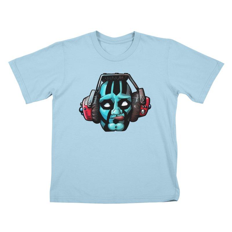 Zombie Metalhead  Kids T-shirt by Cory Kerr's Artist Shop (see more at corykerr.com)
