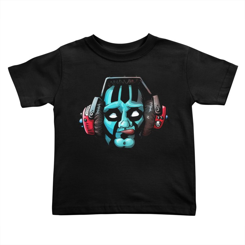 Zombie Metalhead  Kids Toddler T-Shirt by Cory Kerr's Artist Shop (see more at corykerr.com)