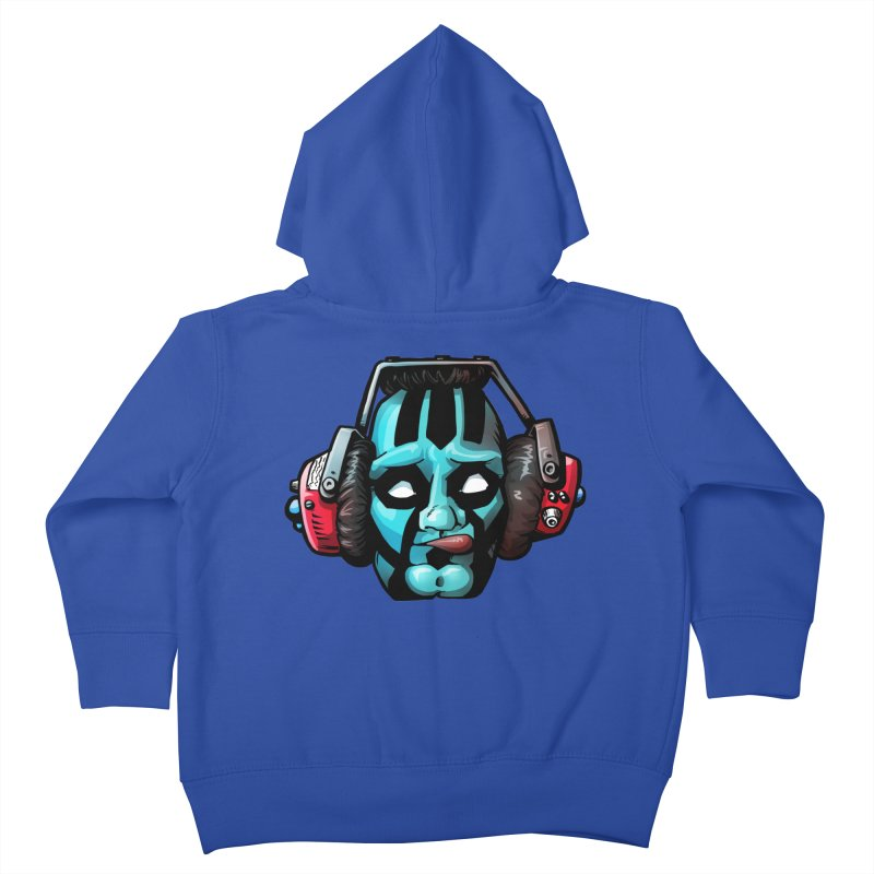 Zombie Metalhead  Kids Toddler Zip-Up Hoody by Cory Kerr's Artist Shop (see more at corykerr.com)