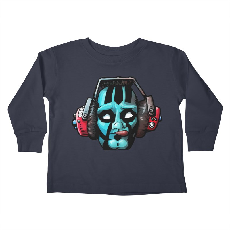 Zombie Metalhead  Kids Toddler Longsleeve T-Shirt by Cory Kerr's Artist Shop (see more at corykerr.com)