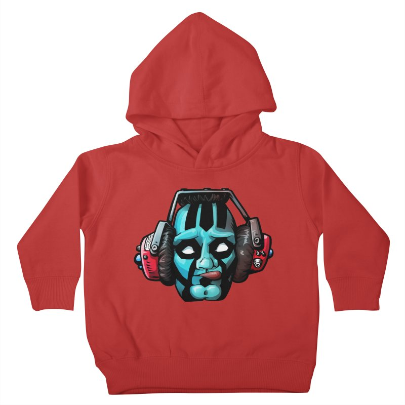 Zombie Metalhead  Kids Toddler Pullover Hoody by Cory Kerr's Artist Shop (see more at corykerr.com)