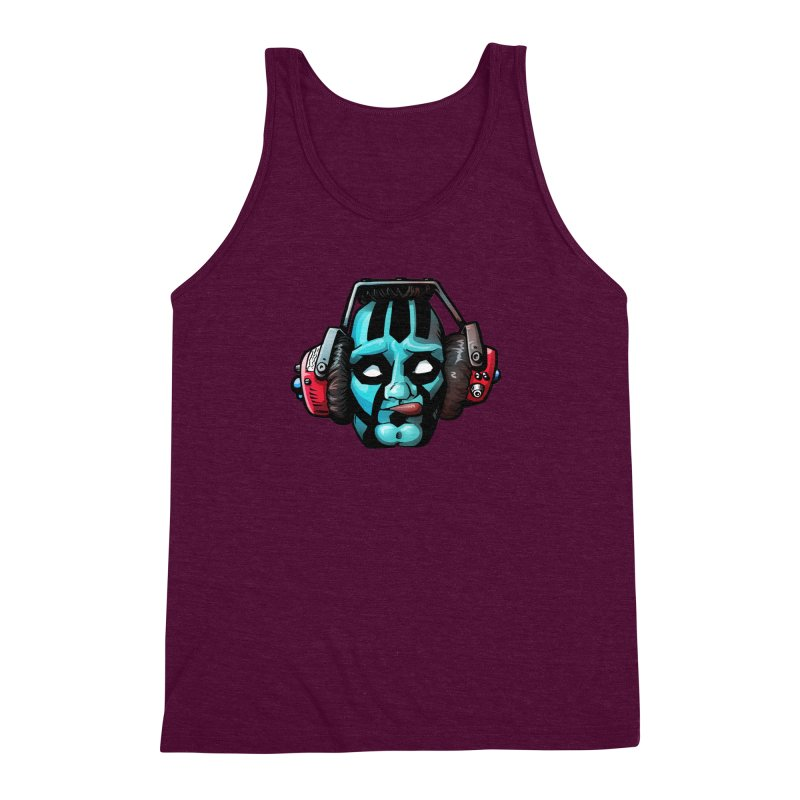 Zombie Metalhead  Men's Triblend Tank by Cory Kerr's Artist Shop (see more at corykerr.com)