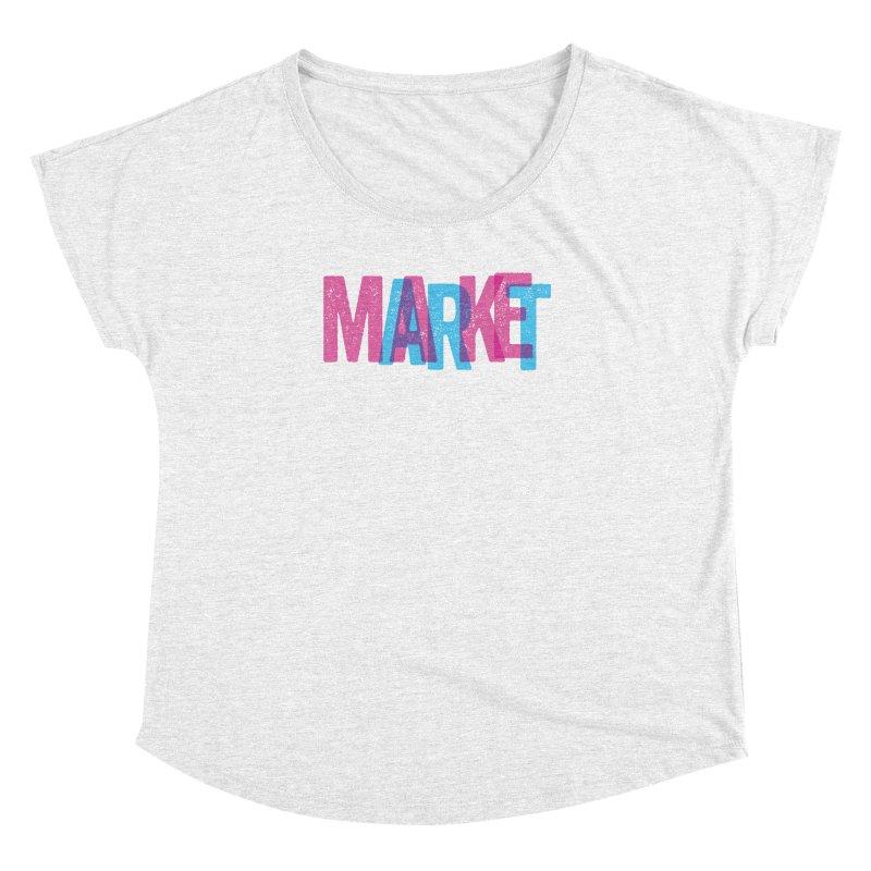 Make Art, Market Art Women's Dolman by Cory Kerr's Artist Shop (see more at corykerr.com)