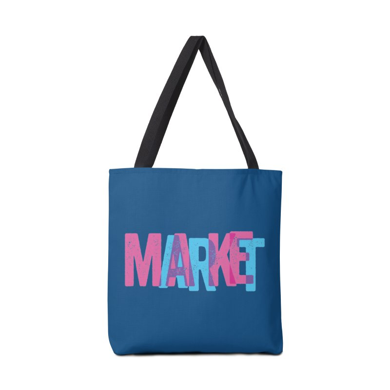 Make Art, Market Art Accessories Bag by Cory Kerr's Artist Shop (see more at corykerr.com)