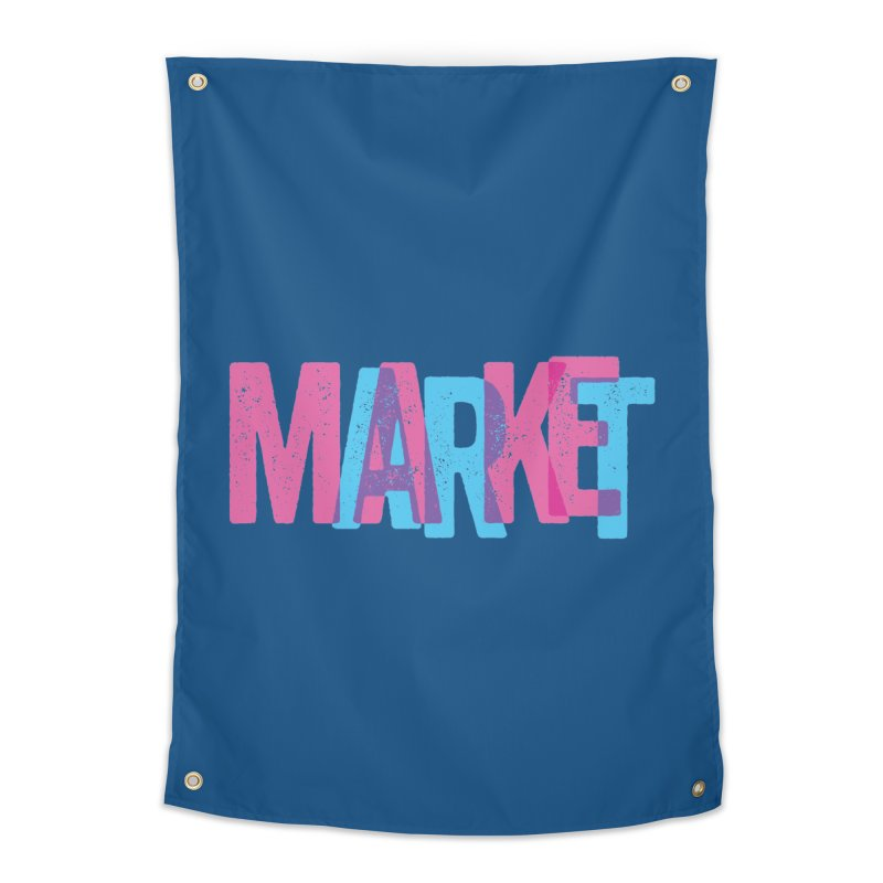 Make Art, Market Art Home Tapestry by Cory Kerr's Artist Shop (see more at corykerr.com)