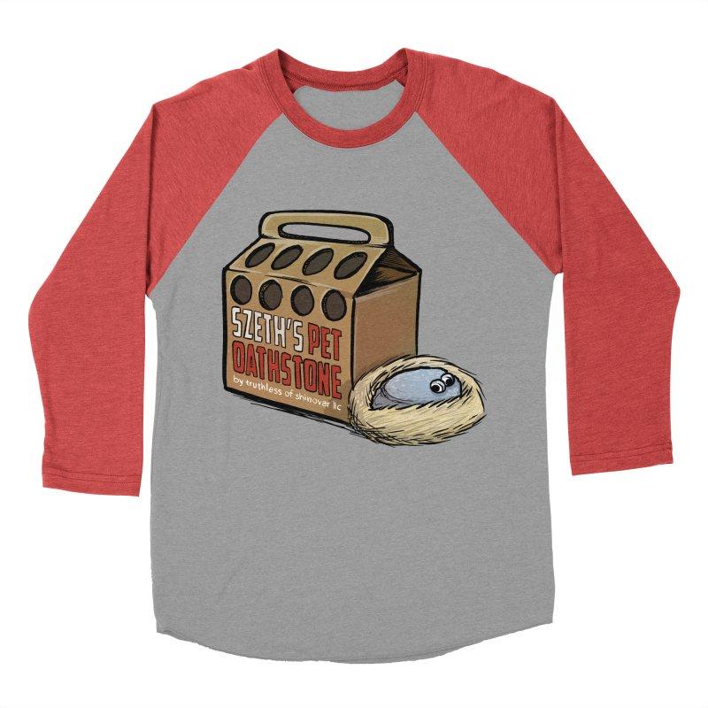 Zseth's Pet Oathstone Women's Baseball Triblend T-Shirt by Cory Kerr's Artist Shop (see more at corykerr.com)