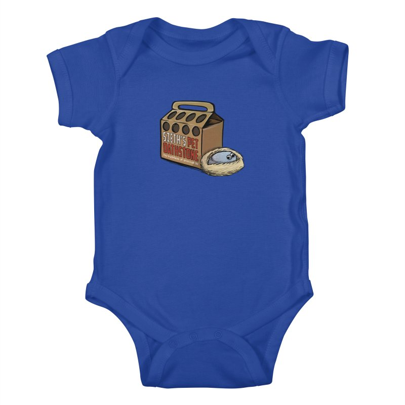Zseth's Pet Oathstone Kids Baby Bodysuit by Cory Kerr's Artist Shop (see more at corykerr.com)