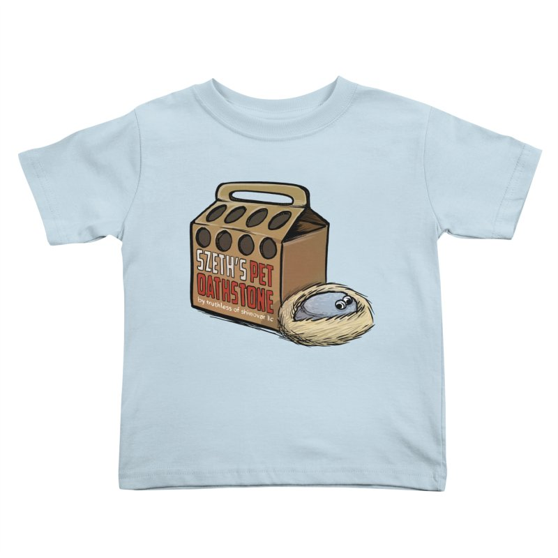 Zseth's Pet Oathstone Kids Toddler T-Shirt by Cory Kerr's Artist Shop (see more at corykerr.com)